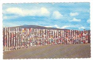 Watson Lake Signposts, Watson Lake, Yukon, Canada, PU-1961
