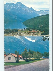 Pre-1980 CABIN SCENE Waterton Lakes - Near Lethbridge Alberta AB AE3138
