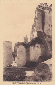 Petit Fort St-Ours Et Les Terrasses Du Chateau Royal, Loches (Indre et Loire)...