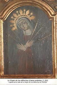 POSTAL 54605: La Virgen de los Alfileritos siglo XVI. Toledo