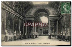 Old Postcard Versailles Palace Gallery of Battles