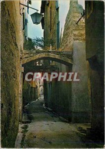 Postcard Modern Sommieres Gard Cite Medievale A very old alley