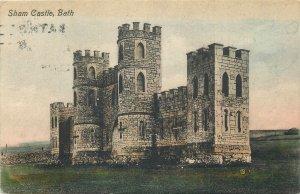 Postcard UK England Bath, Somerset sham castle