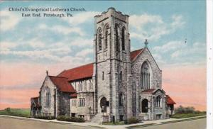 Pennsylvania Pittsburgh Christ's Evangelical Lutheran Church East End