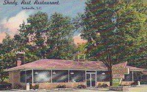 South Carolina Turbeville Shady Rest Resturant