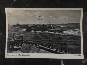 Mint Germany navy RPPC U Boat Picture Postcard Submarine Ranmbooln