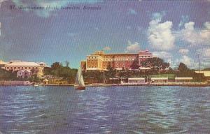 Bermuda Hamilton Bermudian Hotel 1957