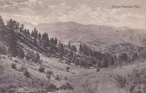 Colorado Denver Denver Mountain Park Albertype