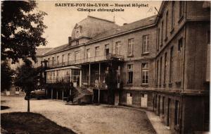 CPA Ste-FOY-les-LYON - Nouvel Hopital Clinique (572959)