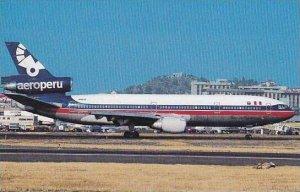 AERO PERU McDONNELL DOUGLAS DC-10-15