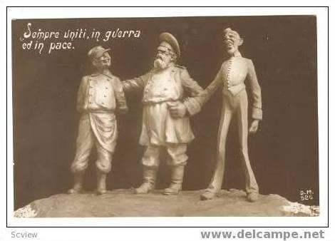 RP Italy,France & Russia as Allies, WWI