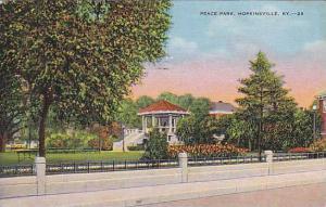 Peace Park, Hopkinsville,  Kentucky, PU-1939
