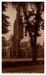 Salisbury Cathedral  from N.E.  RPC Judges LTD  no. 5351