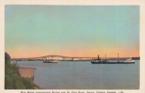 SAULT STE. MARIE, Ontario, Canada, 1900-1910's; Blue Water International Bridge