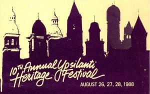 MI - Ypsilanti's Heritage Festival, 1988