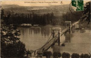 CPA GIVORS Pont de Chasse sur le Rhone (462363)