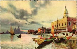 CPA AK VENEZIA Riva degli Schiavoni ITALY (507367)