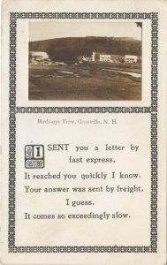 RP; GOSSVILLE , New Hampshire , 1913 ; Birds Eye view