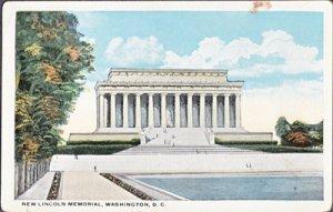 Washington DC - LINCOLN MEMORIAL1920s