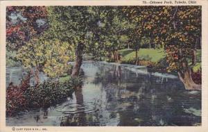 Ohio Toledo Ottawa Park 1946