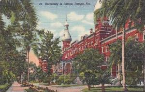 Florida Tampa University of Tampa Curteich