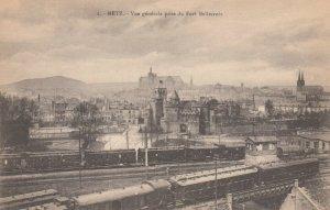 METZ , France , 1900-10s ; Train Sttion