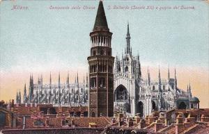 Italy MIlano Campanile della Chiesa San Gootardo