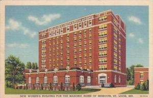 Missouri St Louis new Womens Building For the Masonic Home Of Missouri