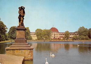 Bremen Park Hotel Statue Lake Swan Birds