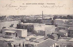 Senegal Saint-Louis Panorama 1908
