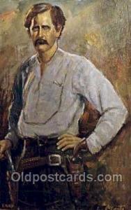 Wyatt Earp Famous People Old Vintage Antique,  Postcard Post Card  Wyatt Earp