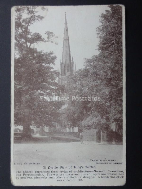 Northamptonshire: A Pretty View of KING'S SUTTON - Old Postcard