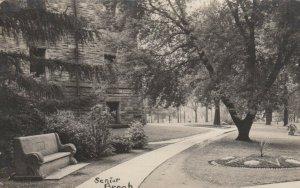 RP: CHAMPAIGN , 1911 , U. Of Illinois , Campus View , Senior Bench