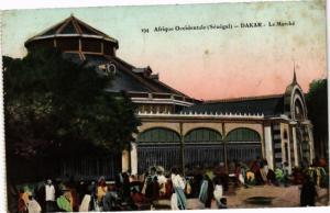 CPA Senegal-Dakar-Le Marché (235601)
