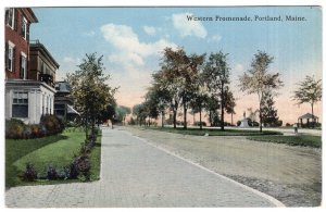 Portland, Maine, Western Promenade