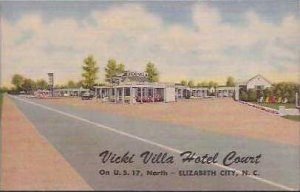 NC Elizabeth City Vicki Villa Hotel Court