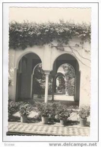 RP  MALAGA, Spain, 20-40s  Patio interior de la Alcazaba