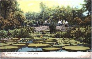 St Paul Minnesota Lilly Pond Como Park