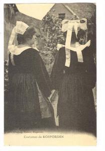 Costumes De ROSPORDEN (Finistère), France, 1900-1910s