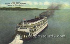 Delta Queen, Largest of the Stern Wheelers on Kentucky Lake USA Ferry Boat, F...
