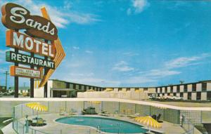 BORGER, Texas, 1940-1960´s; Sands Motel, Swimming Pool