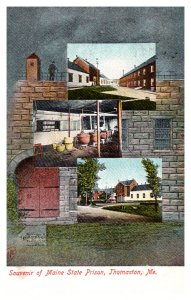 Maine Thomaston , State Prison ,  Multi-view