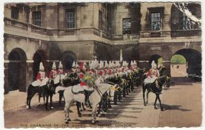 London; Changing Of The Guards, Whitehall PPC 1959 PMK, To M Davidson, Weymouth
