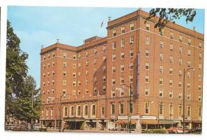 Elmira NY Mark Twain Hotel New York Vintage Postcard