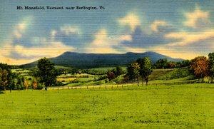 VT -  Mt Mansfield near Burlington