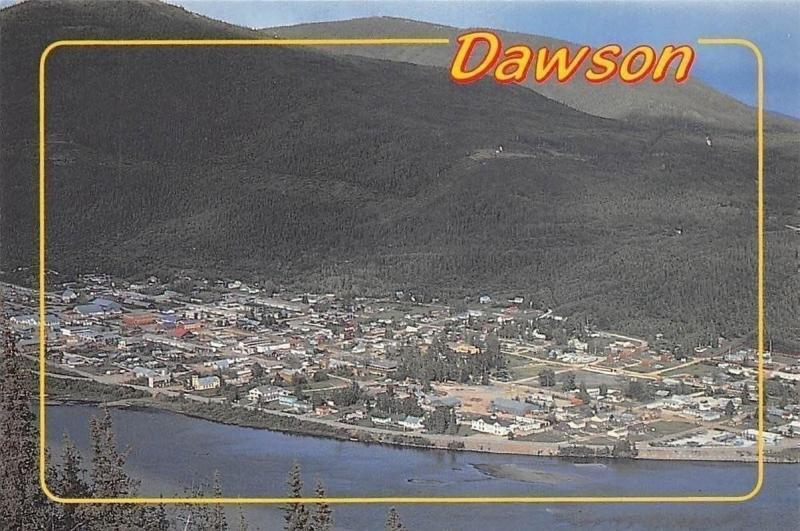 Canada Dawson Yukon Panoramic view