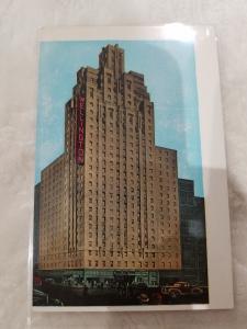 Antique Postcard, Hotel Wellington