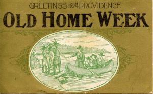 RI - Providence. Old Home Week Greetings