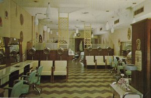 LAVAL , Quebec , Canada , PU-1969; Interior Beauty Salon ; Salon de Beaute