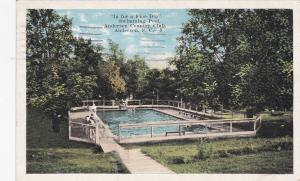Swiming Pool at Country Club , ANDERSON , South Carolina , PU-1926
